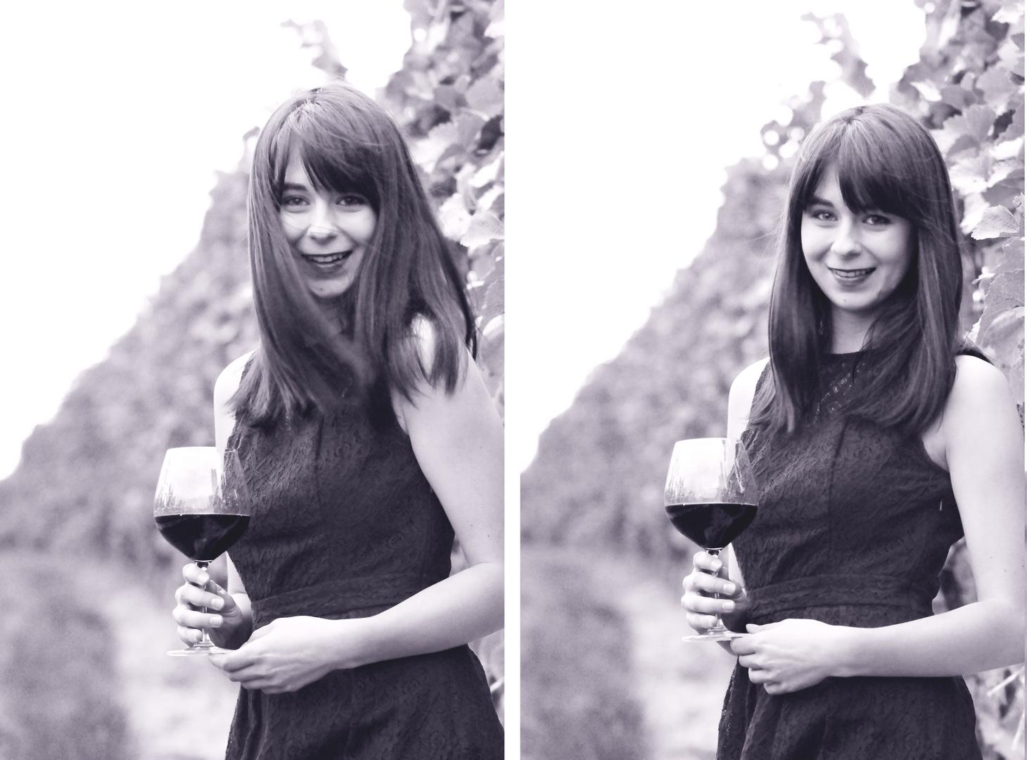 in den Weingärten...