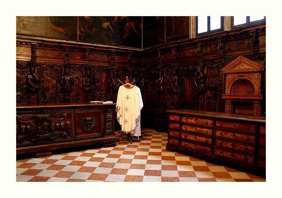 In der alten Sakristei