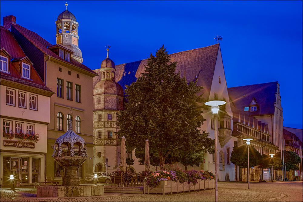 In der Altstadt Aschersleben