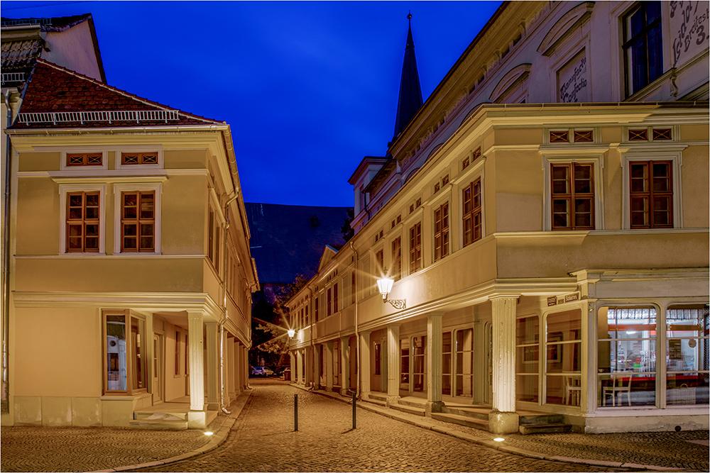 In der Altstadt von Aschersleben