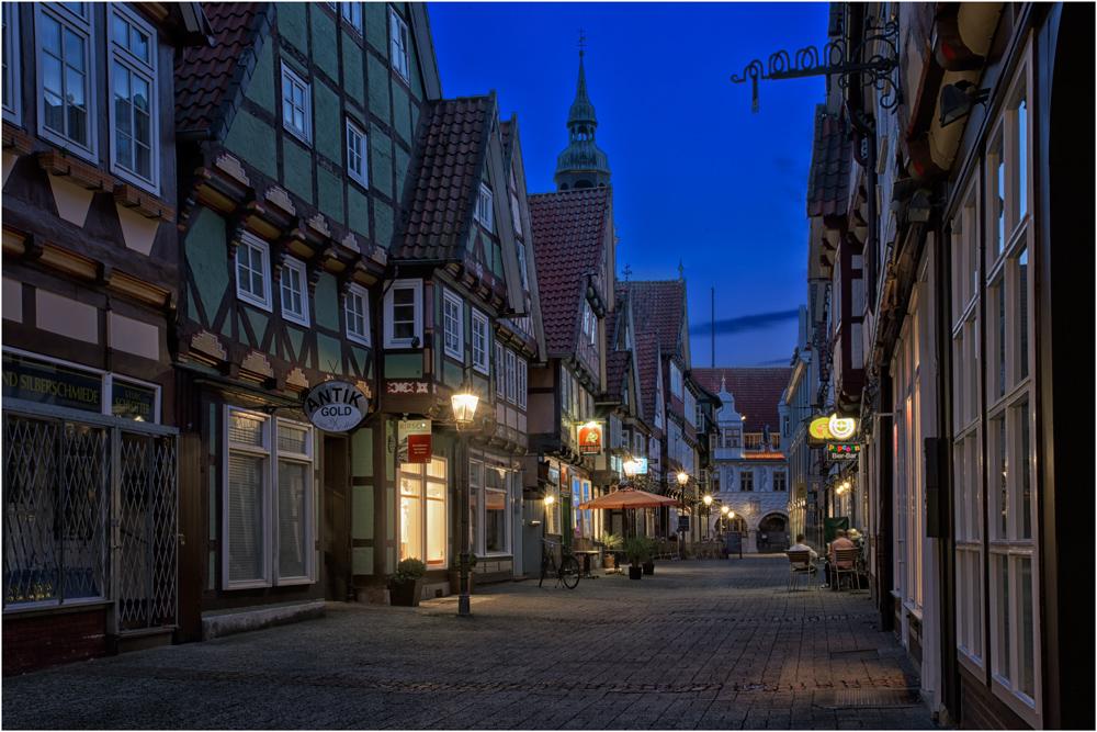 in der Altstadt von Celle