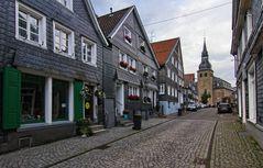 In der Altstadt von Hückeswagen