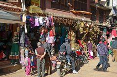 In der Altstadt von Kathmandu