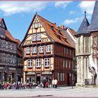 In der Altstadt von Quedlinburg