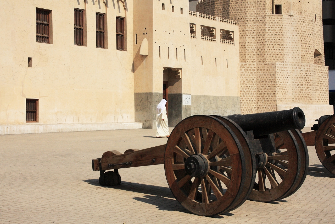 In der Altstadt von Sharjah...