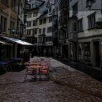 In der Altstadt von St. Gallen