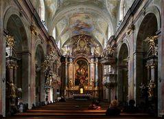 In der Annakirche in Wien