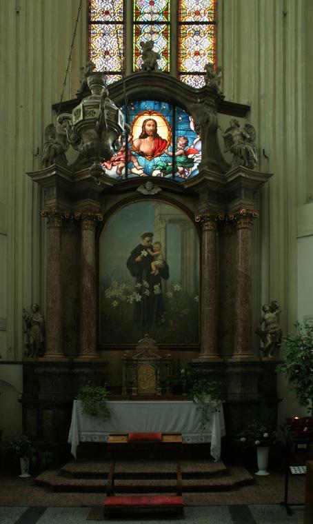 In der Antoniuskapelle der Minoritenkirche