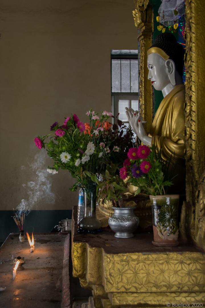 in der Aung Chan Tha Pagoda (© Buelipix)