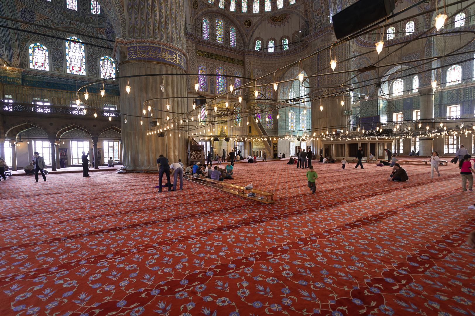 In der Blauen Moschee