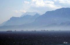In der Bucht von Antalya