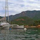 in der Bucht von Girolata