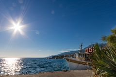 In der Bucht von Starigrad, Dalmatien
