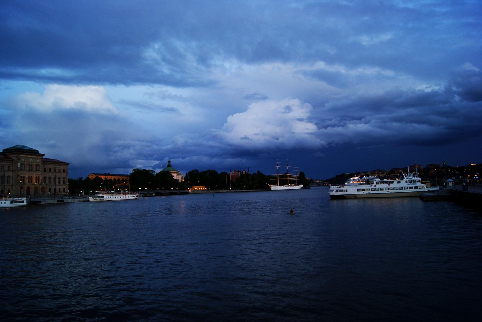 In der Bucht von Stockholm