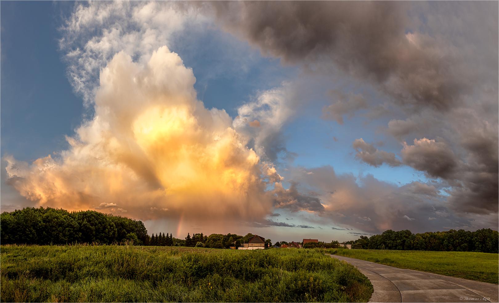 In der Cloud...