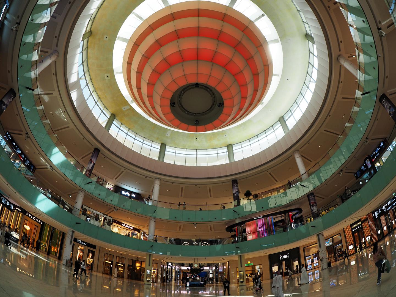In der Dubai Mall ...