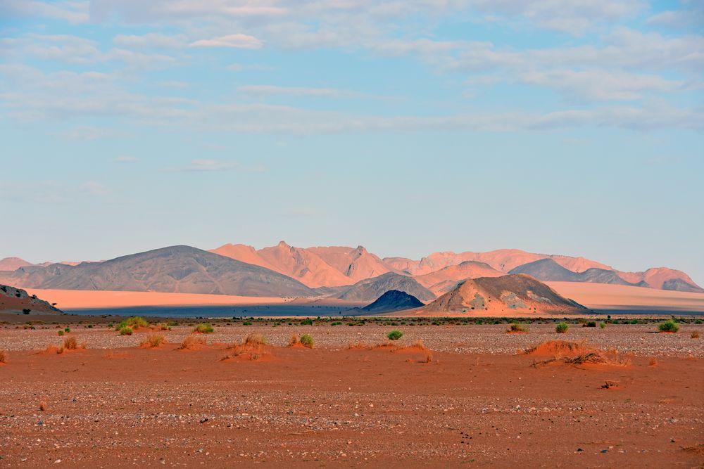 In der Felswüste bei Tafraout Hassi Fougani