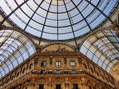 In der Galleria Vittorio Emanuele II
