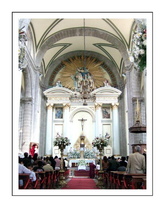 In der größten Kathedrale der neuen Welt