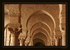 In der großen Moschee in Kaiouran