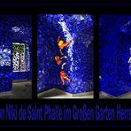 In der Grotte von Niki de Saint Phalle in den Herrenhäuser Gärten in Hannover