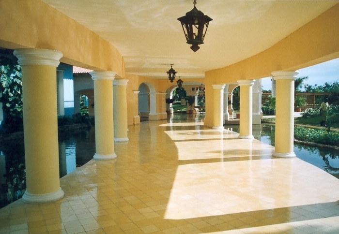 In der Hotelanlage Iberostar Hacienda Dominicus, Bayahibe