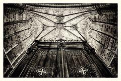 In der Kathedrale von Barcelona