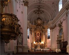 In der Kathedrale von Kalocsa