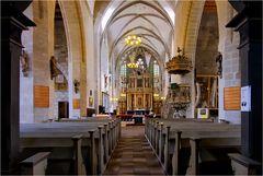 in der Kirche St. Benedikt