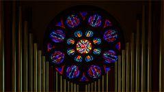 In der Kirche von Bodo Norwegen