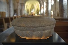 In der Kirche von Troistorrents, Wallis-CH