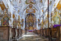 In der Klosterkirche Dietramszell