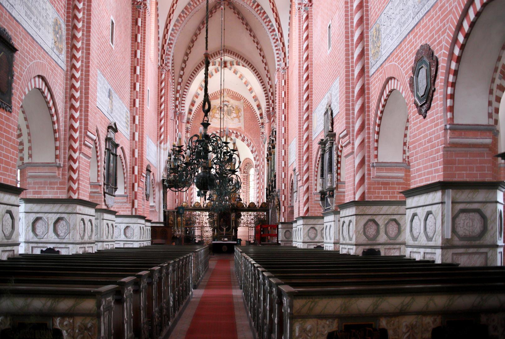 In der  Klosterkirche Doberlug