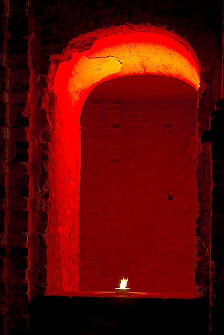 in der Klosterruine