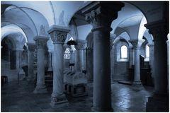 In der Krypta von der Abtei Rolduc