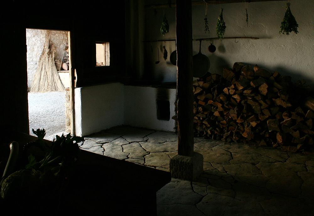 In der Küche des Tuchhändlers Lucius