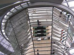 ... in der Kuppel des Reichstag's ...