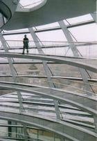 In der Kuppel des Reichtagsgebäudes, 2003