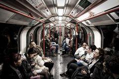 In der Londoner U-Bahn