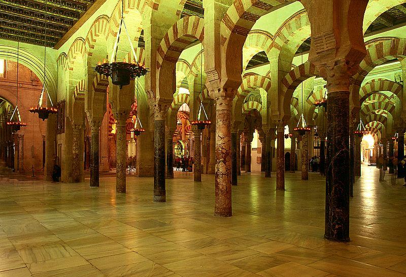 In der Mesquita in Cordoba