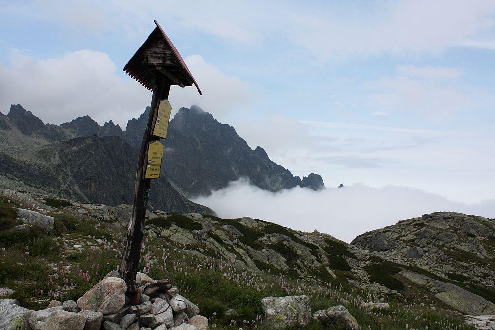 In der Nähe der Zbojnicka Chata (Räuberhütte)...