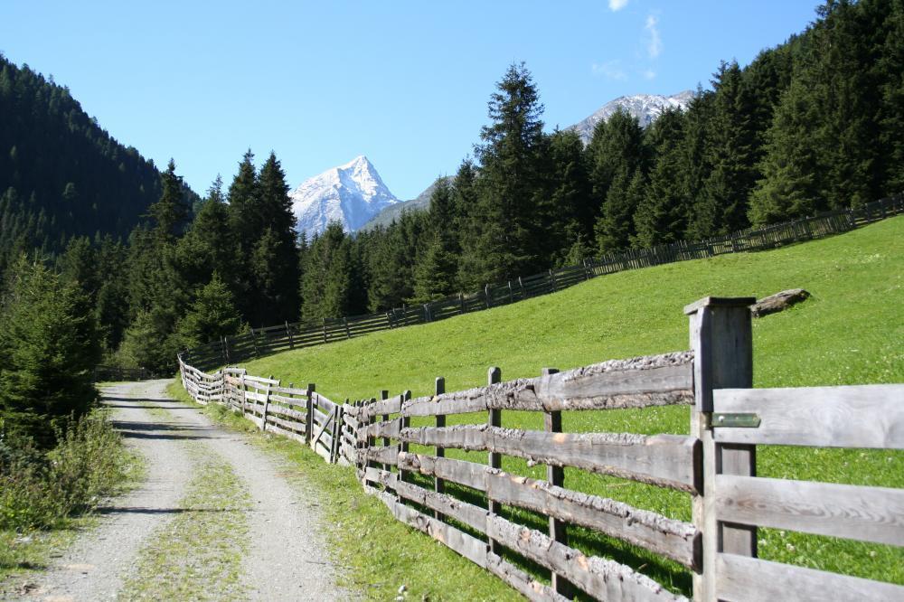 In der Nähe von Praxmar, Tirol