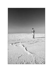 In der Salzwüste - Chott el Cherid