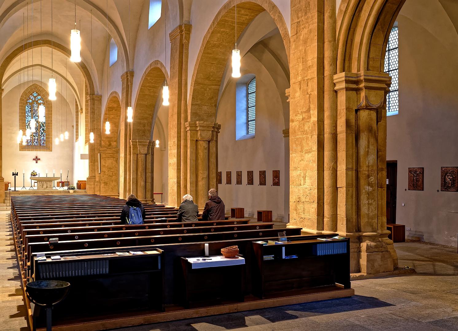 ... in der Schottenkirche ...