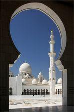 In der Sheikh Zayed Moschee...