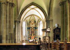 In der St. Nikolauskirche in Rüten