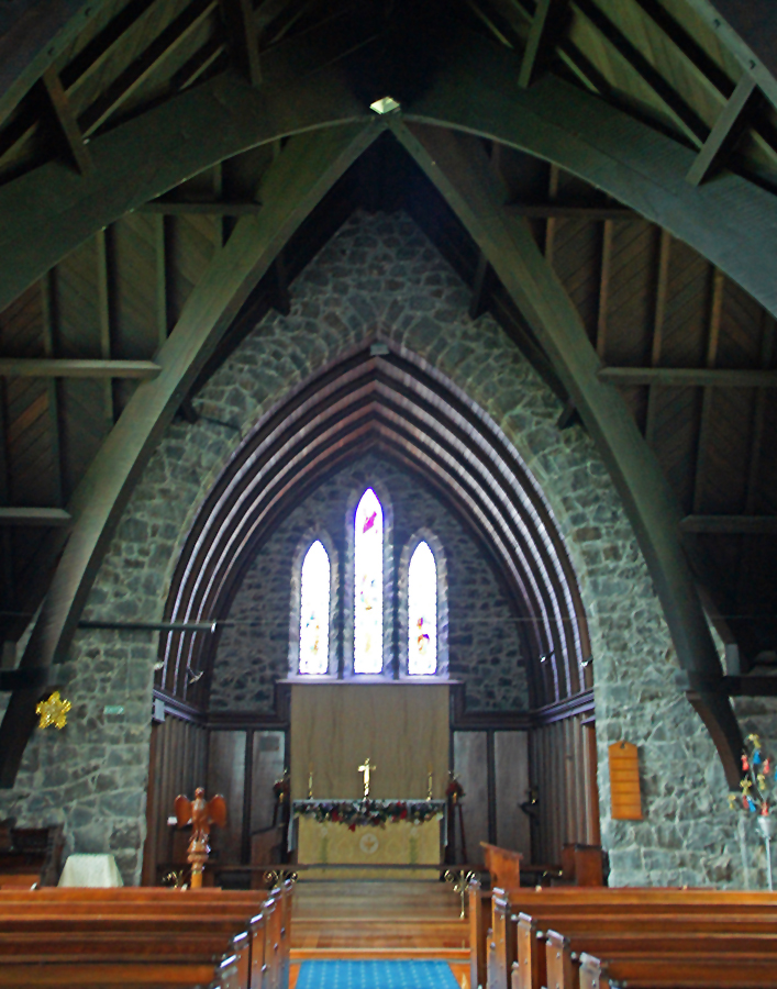 ..in der St Paul's Church..