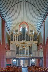 In der Stadtkirche von Michelstadt