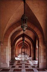 ~ in der Sultan Qabus Moschee ~