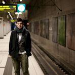 in der U-Bahn IV